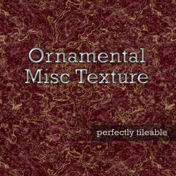 Ornamental Misc Texture 01 - 3DOcean Item for Sale