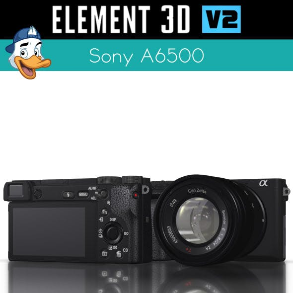 Sony A6500 for Element 3D