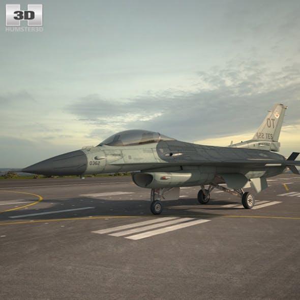 General Dynamics F-16C Block 52 - 3DOcean Item for Sale