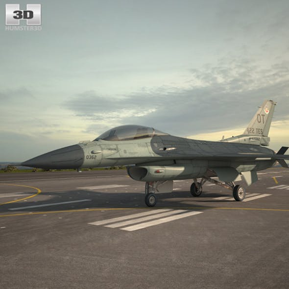 General Dynamics F-16C Block 52