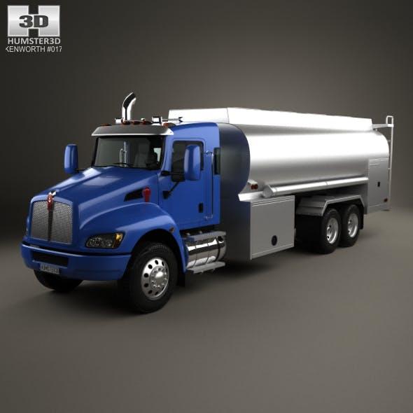 Kenworth T370 Tanker Truck 3-axle 2009