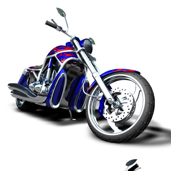 Custom Motorbike HD V-Rod