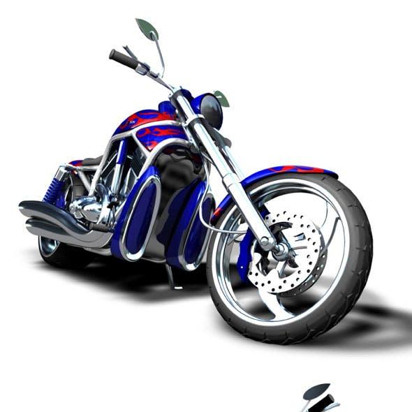 Custom Motorbike HD V-Rod