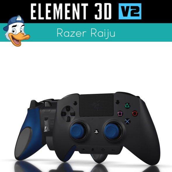 Razer Raiju for Element 3D