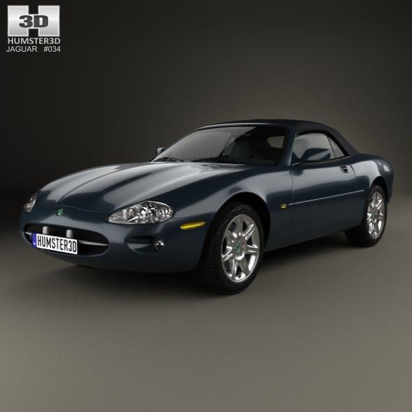 Jaguar XK8 convertible 1996 - 3DOcean Item for Sale