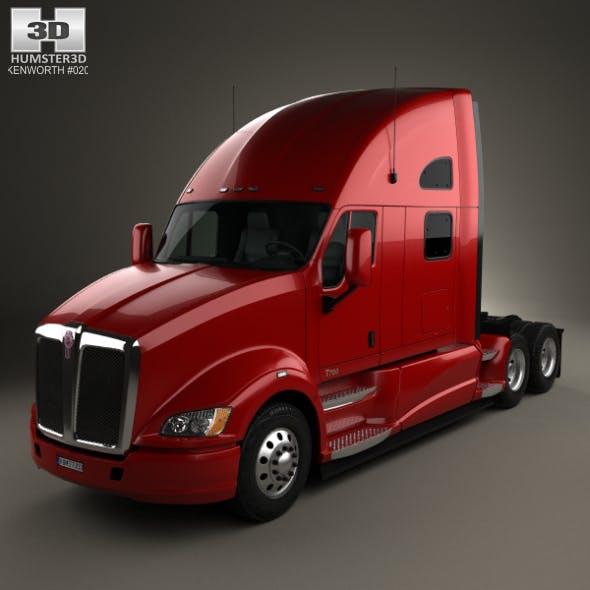 Kenworth T700 Tractor Truck 3-axle 2010
