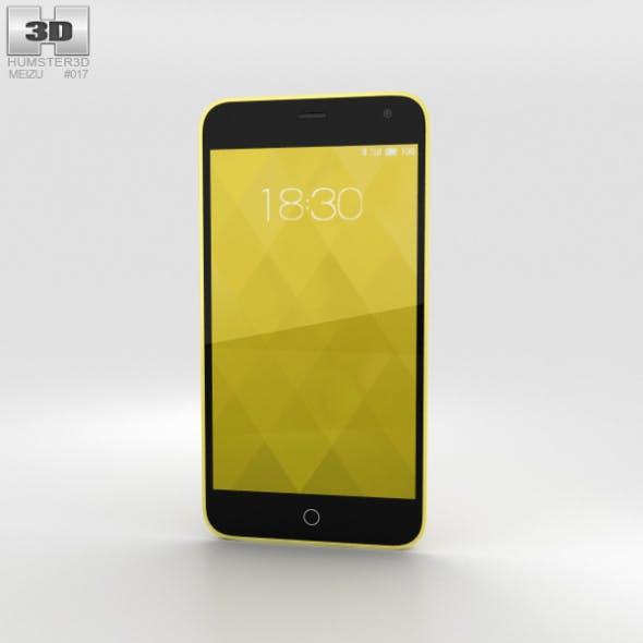 Meizu M1 Yellow