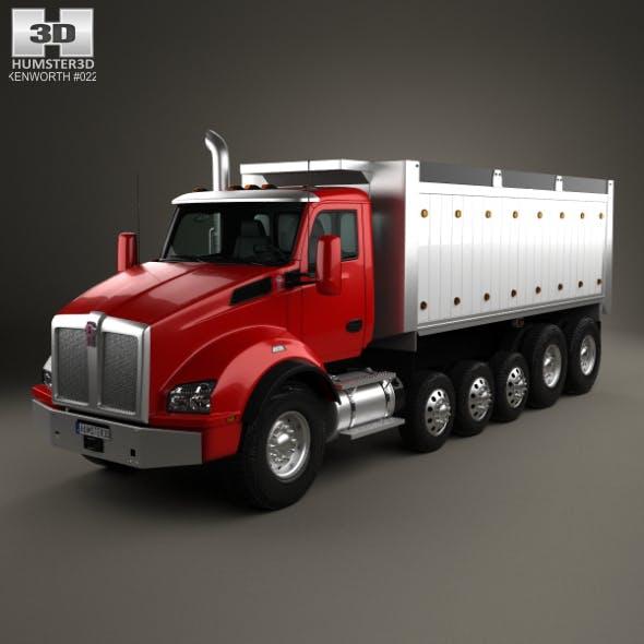 Kenworth T880 Dump Truck 6-axle 2013