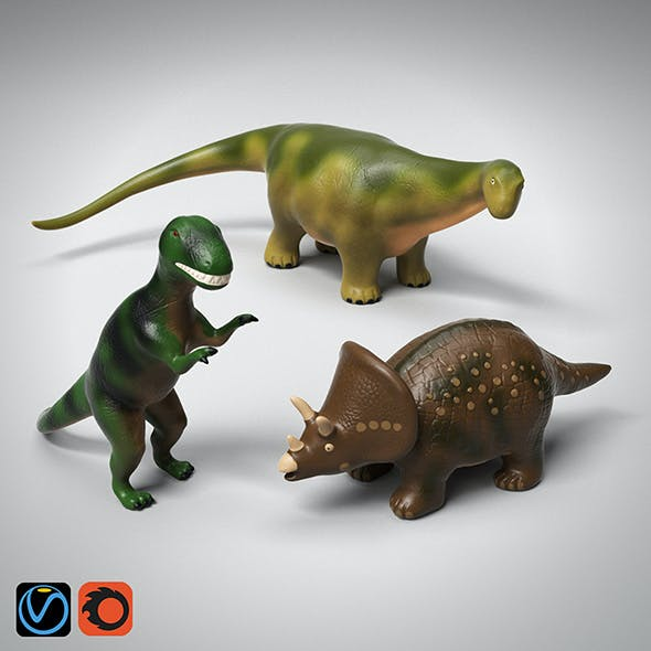 Toy Dinosaurs Collection