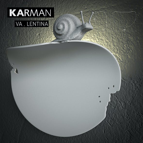 Karman VA.LENTINA Wall lamp