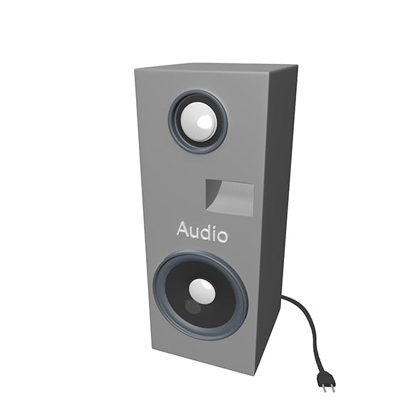 Audio Column - 3DOcean Item for Sale