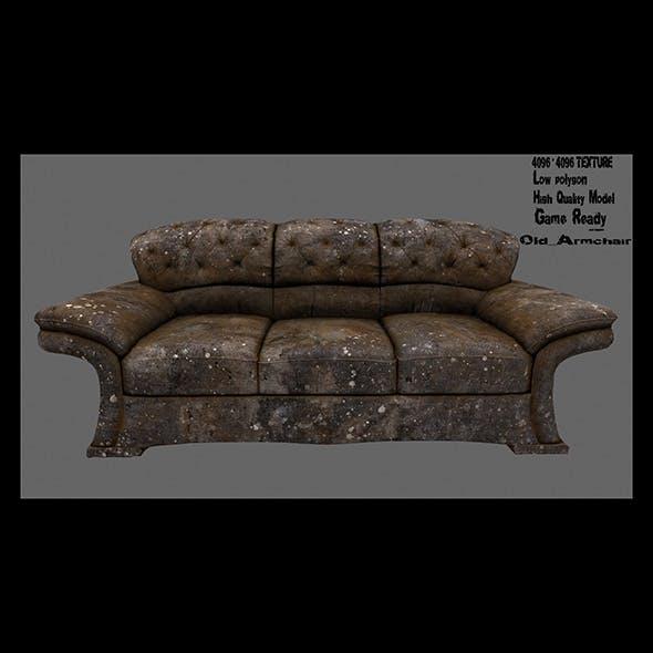 Armchair 1 - 3DOcean Item for Sale