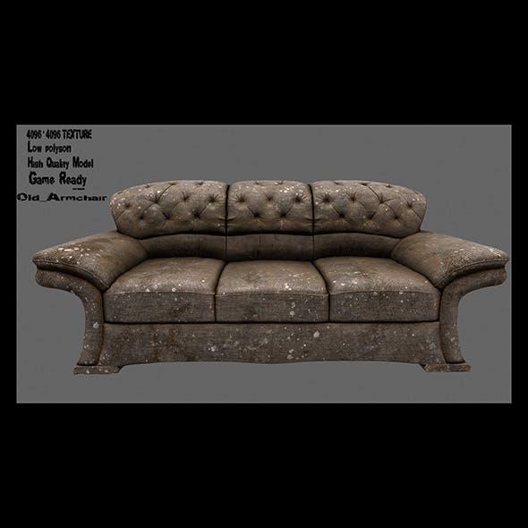 Armchair_2 - 3DOcean Item for Sale