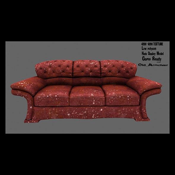 Armchair_3 - 3DOcean Item for Sale