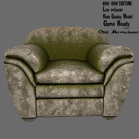 Armchair 6 - 3DOcean Item for Sale