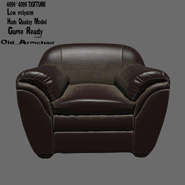 Armchair - 3DOcean Item for Sale