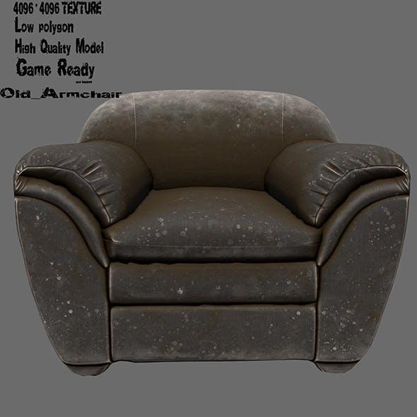 Armchair 8 - 3DOcean Item for Sale