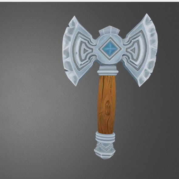 Axe - 3DOcean Item for Sale