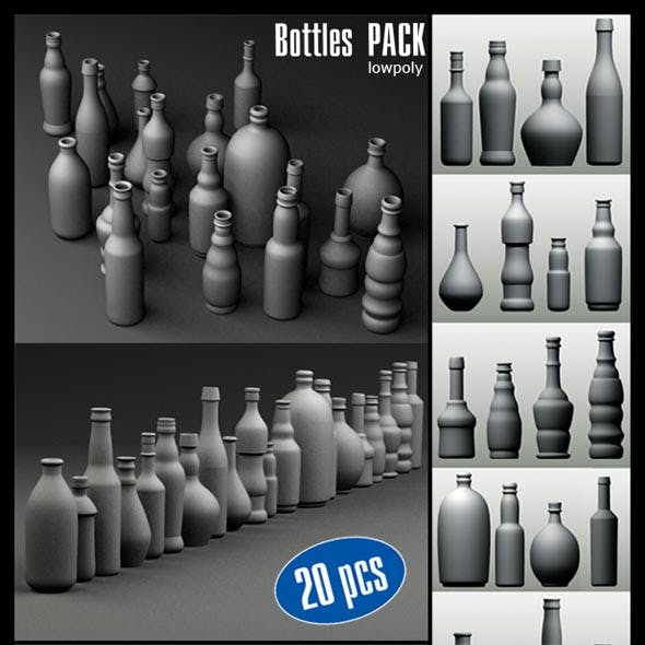 Bottles Pack (20 pcs)