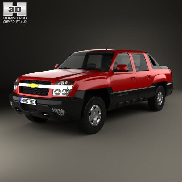 Chevrolet Avalanche 2002 - 3DOcean Item for Sale