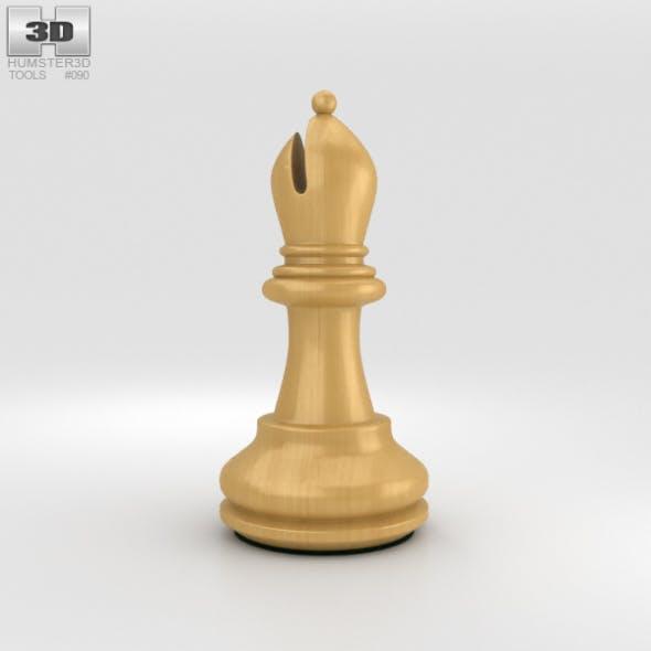 Classic Chess Bishop White