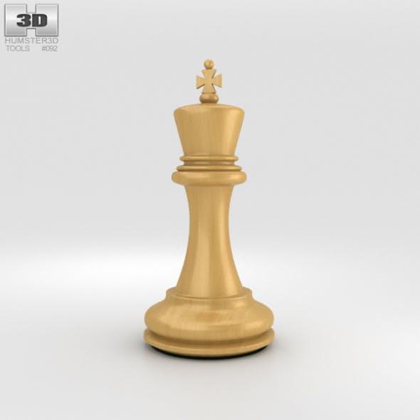 Classic Chess King White