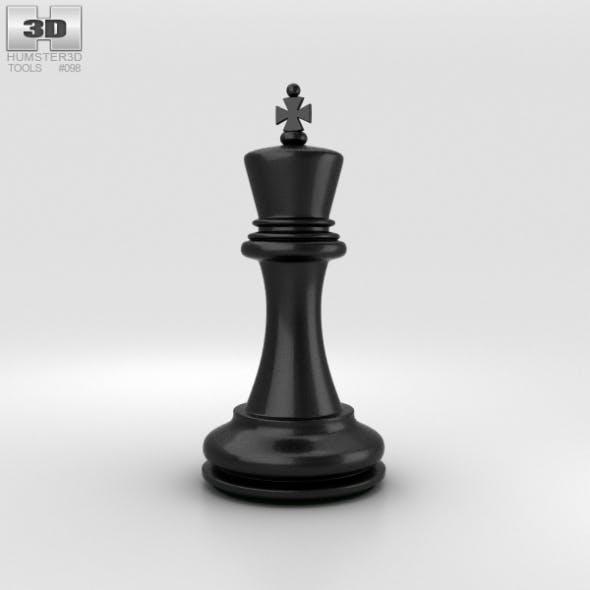 Classic Chess King Black