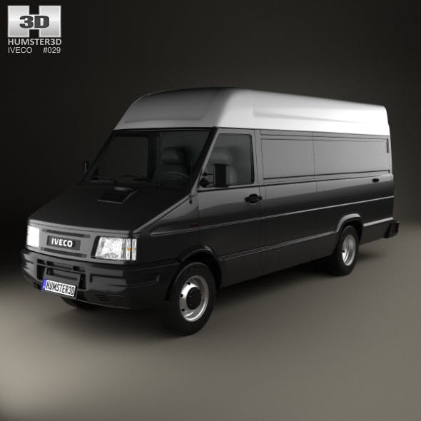 Iveco Daily Panel Van 1996 - 3DOcean Item for Sale