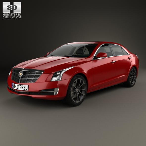 Cadillac ATS L 2015 - 3DOcean Item for Sale