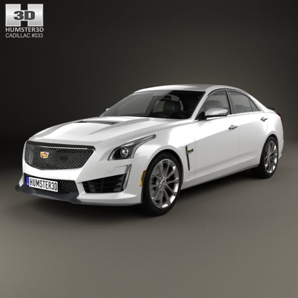 Cadillac CTS V 2016 - 3DOcean Item for Sale