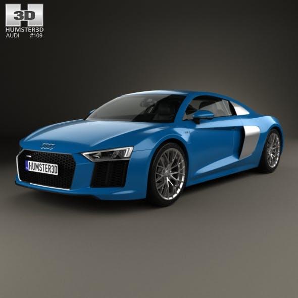 Audi R8 2016 - 3DOcean Item for Sale