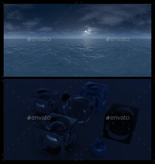 Ocean Night 5 - HDRI - 3DOcean Item for Sale
