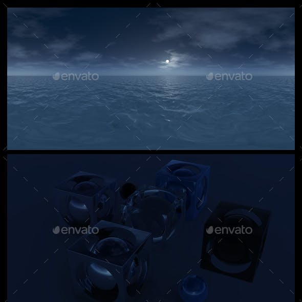 Ocean Night 5 - HDRI
