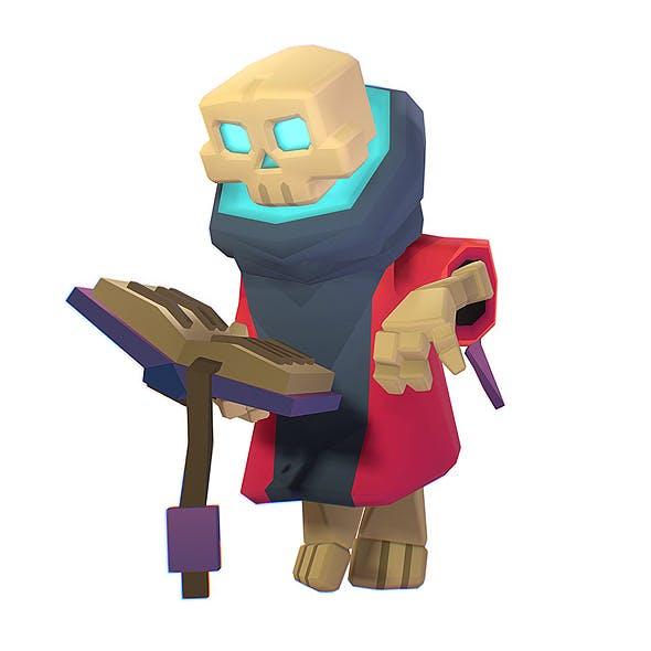 Skeleton Mage - Smashy Craft Series