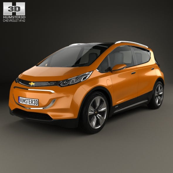 Chevrolet Bolt Concept 2015 - 3DOcean Item for Sale