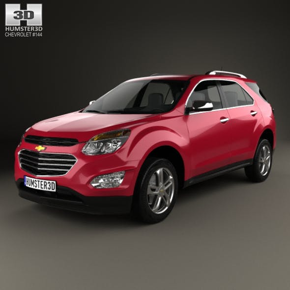 Chevrolet Equinox 2016 - 3DOcean Item for Sale