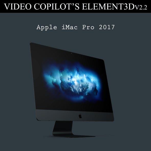 Element3D - iMac Pro 2017