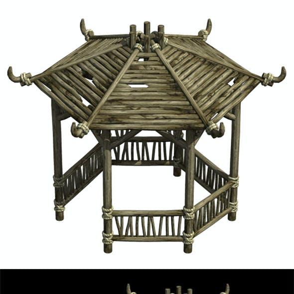Cangwu Mountain Tribe - Hexagonal Pavilion