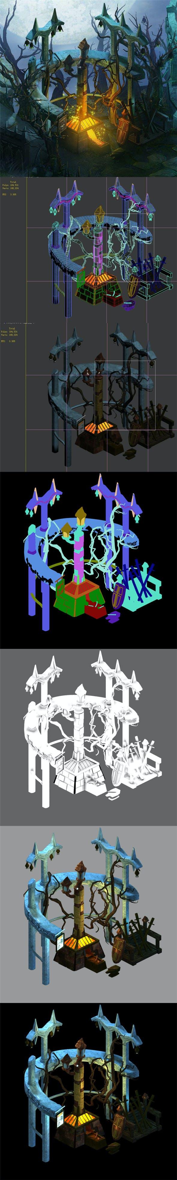 Dark Forest - Blacksmith Shop 01 - 3DOcean Item for Sale