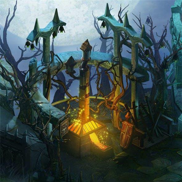 Dark Forest - Blacksmith Shop 01