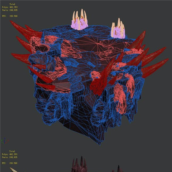 Flaming Cave - Middle and Lower Surface