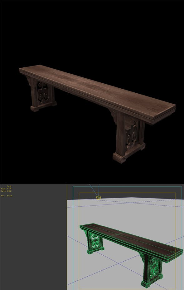 Furniture - table - 3DOcean Item for Sale