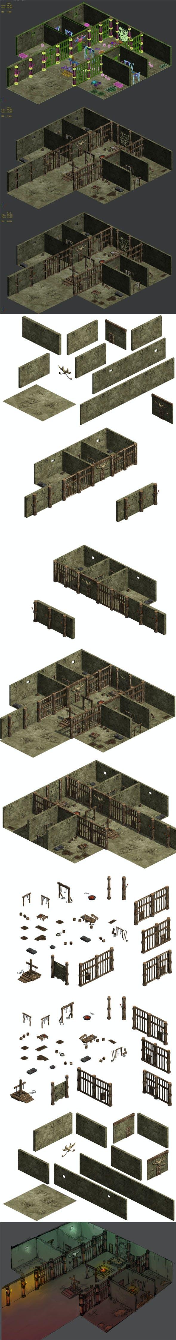 Prison 03 - 3DOcean Item for Sale