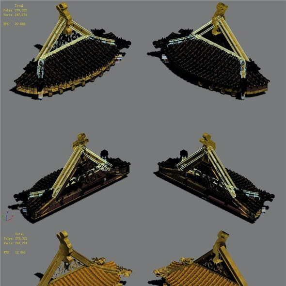 Building accessories - Palace 04