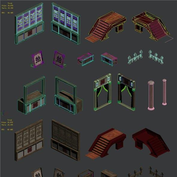 Building accessories - Auction stores