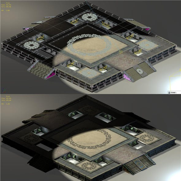 Beijing City Planning - City Center Decoration Platform