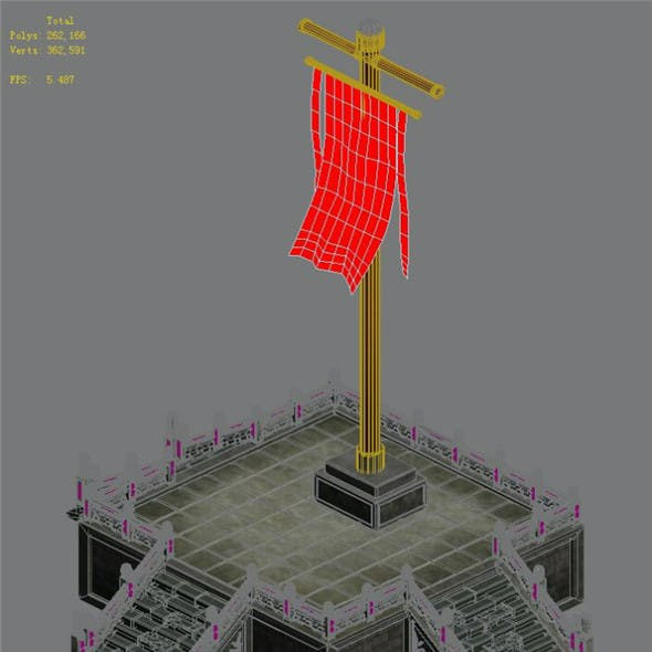 Capital city planning - flag Taiwan