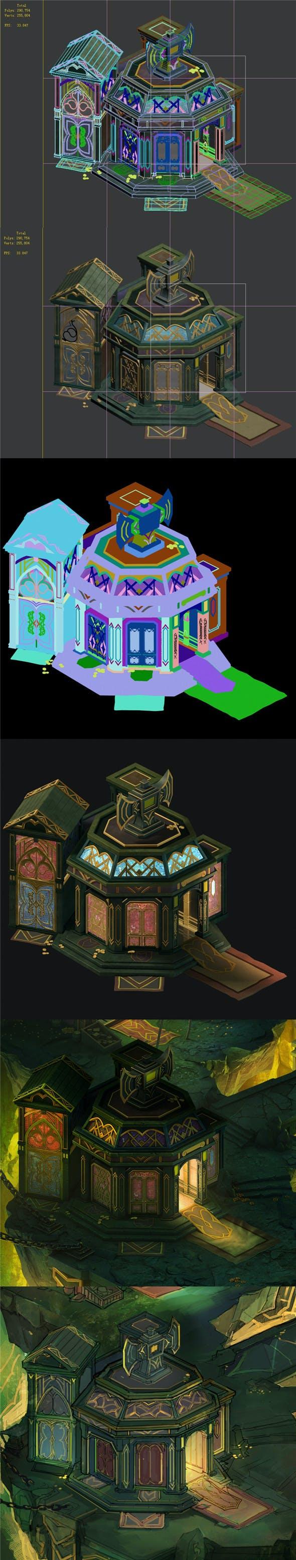 Dragon lair - gorgeous house VIP - 3DOcean Item for Sale