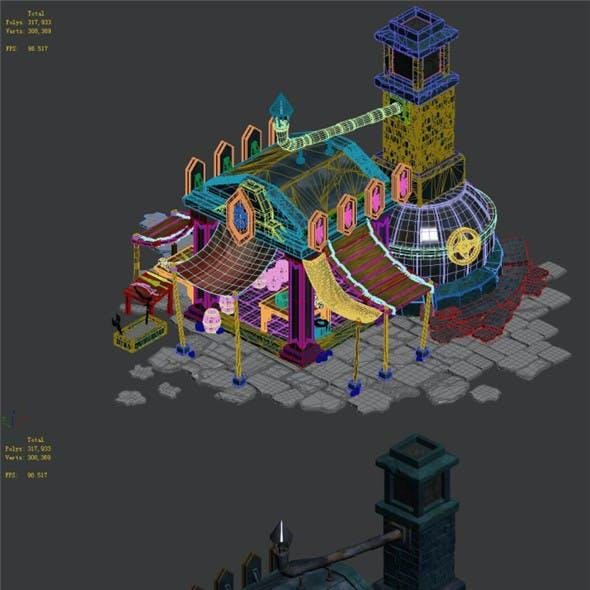Dragon Lair - Blacksmith Shop 01
