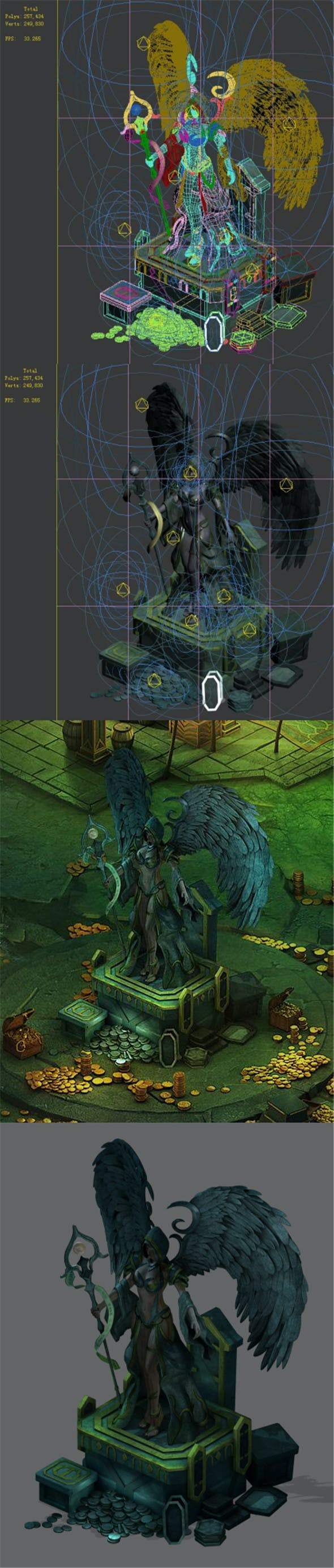 Dragon Lair - War Goddess Curse - 3DOcean Item for Sale